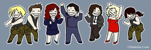 BSG dance party by rimorob