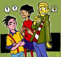 Ed Edd n Eddy rock my world by pirate-trish