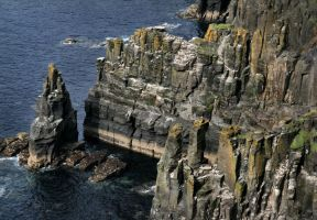 Rocky Cliffs by Navanna