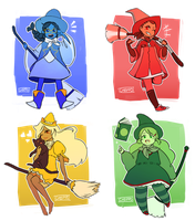 2015 Candy Cup Witches by Cheppoly