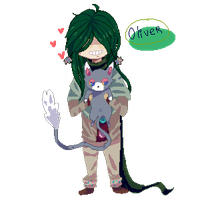 Pixel Oliver by Lamiengo