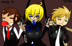 TheRunawayGuys x Vocaloid Crossover: Secret Police by animeloverjd