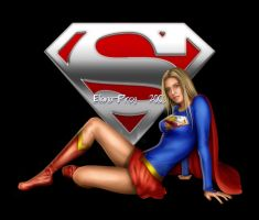 Supergirl by Eliana-Prog