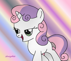25 Pony Challenge Sweetie Belle by The-Real-Shaydee
