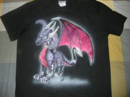 Cynder-Shirt by metalfoxxx