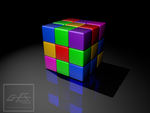 Rubik Cube by gfx-micdi-designs