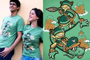 General Dragao T Shirt by ChamaCamisetas