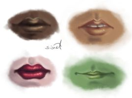 Lips by sisaat