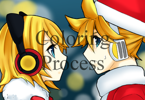 -Speedpaint- Rin and Len by Na-Nami