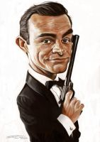 JAMES BOND (SEAN CONNERY) by JaumeCullell