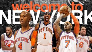 New York Knicks Wallpaper by Angelmaker666