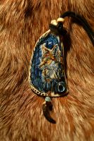 Fox pendant for sale by WoroTax