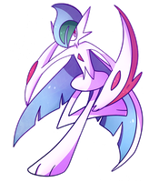 Mega Gallade by VanessaGiratina