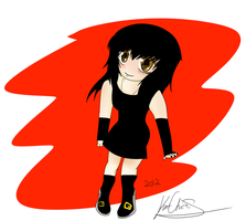 +doodle+ chibi me by Thedreamsofdarkness