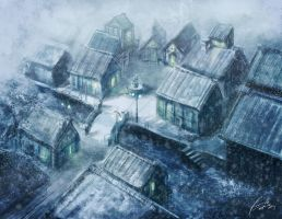 Winter Village by frankhong