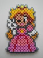 Princess Peach Hama Sprite by rinoaff10