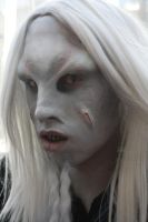 Wraith Cosplay Makeup Stargate Atlantis by bomb109