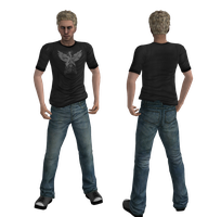 Mesh Mod: Casual Blond guy by drakl0r