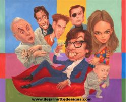 Austin Powers by DeJarnette