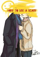how to use a scarf ? by Zjackt