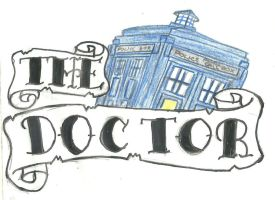 the Doctor Tattoo by theDoctor1996