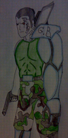 NEW OC: Garry Beeray coloured by Sobies516pl