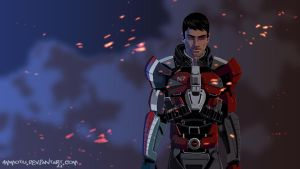 Shepard by Ammotu