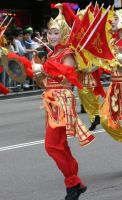 Chinese Dancer in Red by The-Abstract-Mind