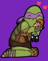TMNT 2012 Donatello by TheOliveMonster