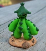 Cacturne Miniature by EctopIasm
