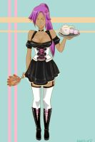 Yoruichi The maid by ForbiddenNoodles