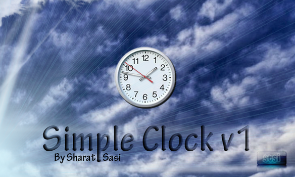 Simple Clock v1 by bssindex
