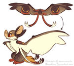 Mothbat Design Contest Entry by Bowdino