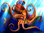 Taunted Octopus by LostLX