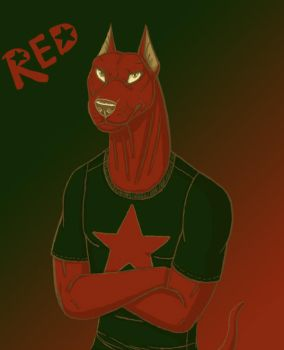 Color challenge 7 Red by BullTerrierKa
