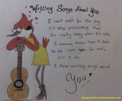 Writing songs about you by IHopeYourLove18