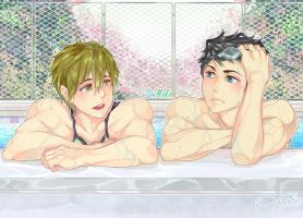 SouMako - Free! Eternal Summer by XOtakumiX