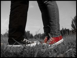 Kiss and Converse by AleksHeart