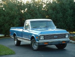 1972 Chevrolet C10 by WeezyBlue
