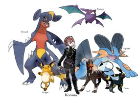 Hoen avatar and pokemons by twisted-wind