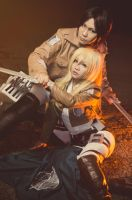 Shingeki no Kyojin: Fearless by Astellecia