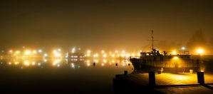 Lights at the dock by Smattila