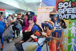 Niagara Falls Comicon 2015 - Officer Vi, X'erath by TheWarRises