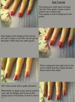 Nail tutorial 10 by NAILART9