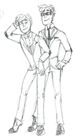 Wow look at these dapper gay dudes by PuffyShirt