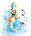 [PIXIV FANTASIA XII] Unnamed character by ChibiPaper