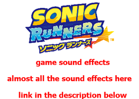 Sonic Runners Sounds Effects by facundogomez