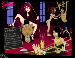 Sadista ~ Ninja FAIL by CeeAyBee
