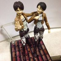 Eren and Levi Figma by micahthepanda
