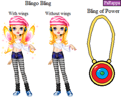 PaRappa- Blingo Bling and the Bling of Power by Emikodo
